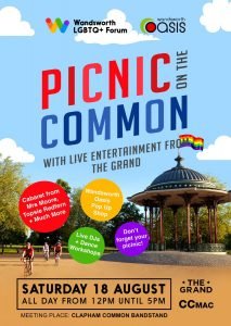 Summer Picnic on Clapham Common @ The Bandstand | England | United Kingdom