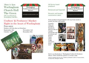 Warlingham Crafters' Market @ Warlingham Church Hall | England | United Kingdom