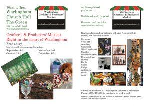 Warlingham Crafters' Market @ Warlingham Church Hall | England | United Kingdom