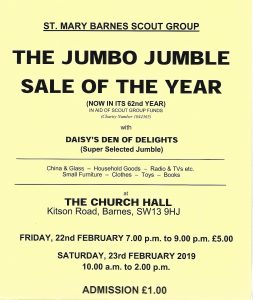 THE JUMBO JUMBLE SALE OF THE YEAR @ THE CHURCH HALL,    England   United Kingdom